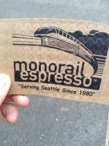 Monorail espresso cup sleeve
