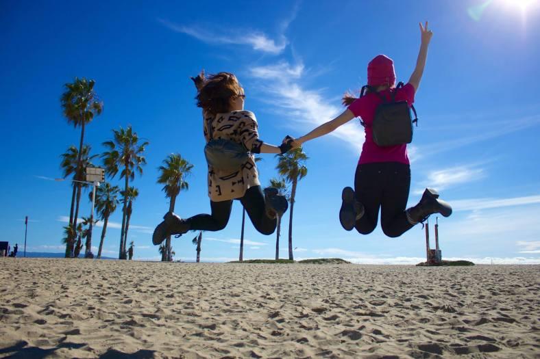 At Venice Beach. Photo by Oran V.