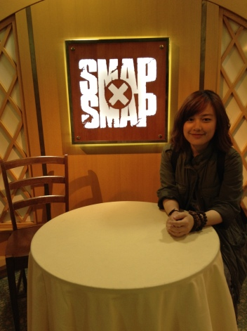 オーダー!!(ORDER!!). Bistro SMAP public display at Fuji TV. I sat on the guest's side. I want to photoshop Nakai in hehe