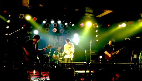 The Bullets Fly, live at Tachikawa Babel 4/28/2014