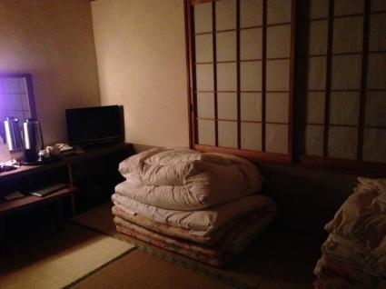 Traditional Tatami Room at Meiryuu Ryokan in Nagoya