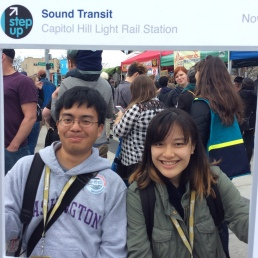 Sound Transit picture booth
